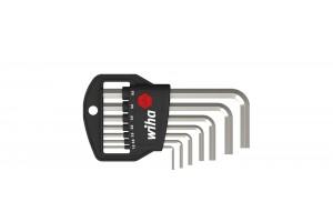 Набор шестигранных штифтовых ключей Classic, коротких 7 шт. WIHA 01172