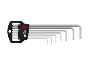 Набор штифтовых ключей со сферической головкой HEX Wiha Classic SB 369 H7 03723 7 предметов