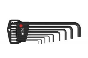 Набор шестигранных штифтовых ключей со сферической головкой Classic 9 шт. WIHA 03879