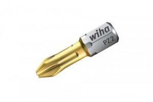 Бита TiN Torsion форма C 6,3 Pozidriv PZ1 x 25 мм WIHA 04657