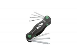 Футляр-рукоятка Wiha TORX Tamper Resistant PocketStar SB 363TR P7 25164 с отверстием 7 предметов