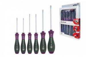 Набор отверток MicroFinish TORX® 5 шт. WIHA 29169
