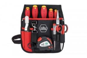 Набор для электриков в поясной сумке 10 шт. WIHA 33155