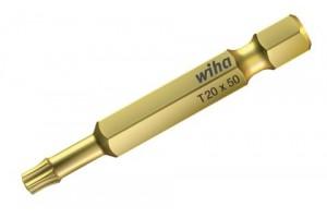 Бита HOT Torsion форма E 6,3 TORX T30 x 50 мм WIHA 33670