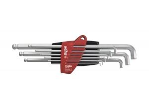 Набор штифтовых ключей со сферической головкой HEX Wiha ProStar SB 369T S9 35481, 9 пр. в блистере