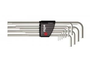 Набор шестигранных штифтовых ключей Compact, длинных 11 шт. WIHA 36451