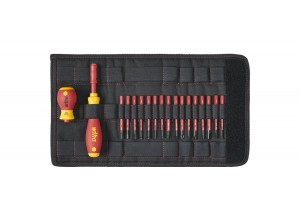 Набор рукоятки и биты SoftFinish electric slimVario WIHA 41231