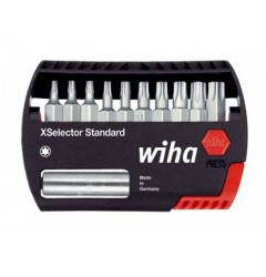Набор с битами Wiha XSelector Standard TORX 7944-505 26983, 11 предметов