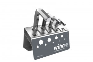 Набор шестигранных штифтовых ключей в подставке 9 шт. WIHA 01182