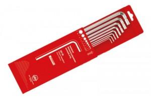 Набор шестигранных штифтовых ключей в выдвижной коробке 8 шт. WIHA 01216