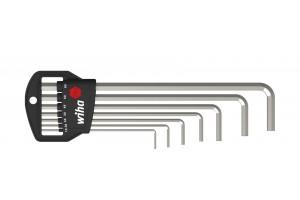 Набор шестигранных штифтовых ключей Classic, длинных 7 шт. WIHA 01220
