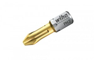 Бита TiN Torsion форма C 6,3 Phillips PH1 x 25 мм WIHA 04654