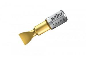 Шлицевая бита TiN Torsion форма C 6,3 SL4,5 x 25 мм WIHA 04743