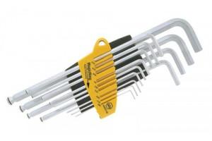 Набор шестигранных штифтовых ключей со сферической головкой MagicRing ProStar 13 шт. в блистере WIHA 24850