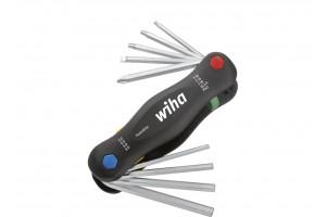 Набор штифтовых ключей PocketStar смешанный 9 шт. WIHA 25293