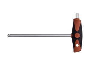Шестигранная отвертка ComfortGrip со сферической головкой SW3 x 150 мм WIHA 28372