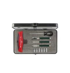 Набор динамометрических инструментов с Т-образной рукояткой TorqueVario-STplus 11 шт. WIHA 29234