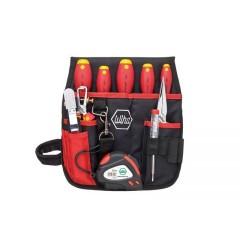 Набор для электриков в поясной сумке 10 шт. WIHA 33153