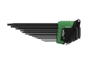 Набор штифтовых ключей ErgoStar со сферической головкой TORX, длинных 13 шт. WIHA 36487