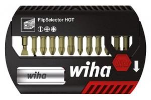 Набор бит FlipSelector Torsion HOT смешанный 13 шт. WIHA 39031