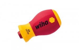 Укороченная рукоятка SoftFinish Stubby electric VDE в блистере WIHA 41229