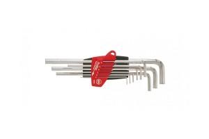 Набор шестигранных штифтовых ключей HEX Wiha ProStar SB 352 S9 07190, 9 пр. в блистере