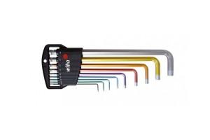 Набор штифтовых ключей со сферической головкой HEX Wiha Classic SB 369 H9F 35683 9 пр.